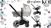 CYBEX Set Priam Seat Lux Fashion Koi Crystallized 2018