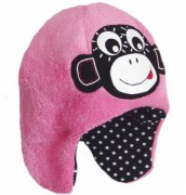Čepice Pinkie Light Pink Monkey