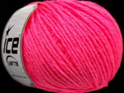 Wool Worsted - neon pink
