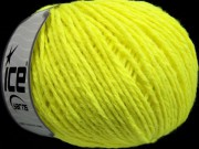 Wool Worsted - neon yellow