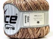 Onice Viscose Cream Brown