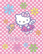 Deka fleece Hello Kitty