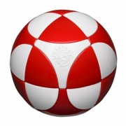 Red & White - Marusenko sphere (koule)