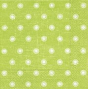 Ubrousky - Double dots green
