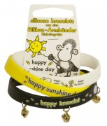 Sheepworld Silikonový náramek  Happy sunshine