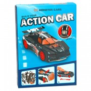 3D Puzzle Monster Cars