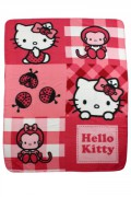 Fleecová deka Hello Kitty 120/150cm