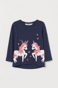 TRIČKO UNICORNS TRIKO ZN. H&M