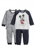 PYŽAMO Mickey Mouse KOMPLET 2 KS ZN. H&M