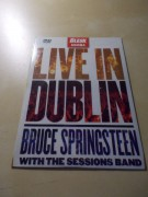 BRUCE SPRINGSTEEN - WITH THE SESSIONS BAND - LIVE IN DUBLIN (DVD v pošetce)