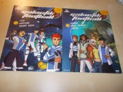 Galactik Football (TV seriál) - SET DVD 1 A DVD2,  (DVD v pošetce)