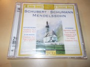 50 GOLDEN MOMENTS - SCHUBERT MENDELSSOHN SCHUMANN (2CD)
