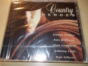 Various ‎–  Country Heroes (CD)