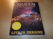 Queen  +  Paul Rodgers ‎– Live In Ukraine (DVD/2CD) SPECIAL EDITION