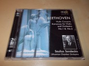 BEETHOVEN. Violin Concerto. Romances for Violin & Orchestra No.1 & No.2. (CD)