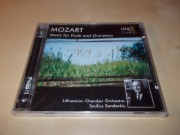 MOZART. Music for Flute & Orchestra - Lithuanian Chamber conductor - Saulius Sondeckis (CD)