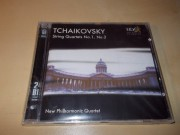 TCHAIKOVSKY. String Quartest No.1, No.3. New Philharmonic Quartet (CD)