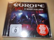 Europe ‎– [Live!] At Shepherd´s Bush,  London (CD/DVD)