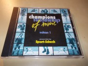 Various Artists - CHAMPIONS OF MUSIC - VOLUME 1 (CD) ČASOVĚ OMEZENÁ AKCE