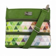 Dara Bags crossbody kabelka Dariana Mini No. 1815 Triangels green-multicolor