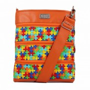Dara Bags crossbody kabelka Dariana Middle No. 1813 puzzle multicolour