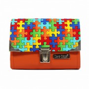 Dara Bags Peněženka Third Line Purse No. 888 puzzle multicolour