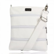Dara Bags crossbody kabelka Dariana Middle No. 1522 WHITE