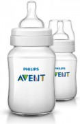 Láhev Classic +  260 ml,  2 ks PHILIPS AVENT
