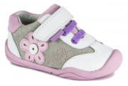 BAREFOOT STYL PEDIPED CLAUDIA WHITE PINK GG4060