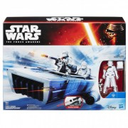 STAR WARS - FIRST ORDER SNOWTROOPER OFFICER SNOWSPEEDER