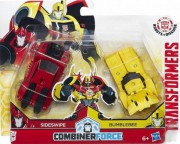 Bumblebee + Sideswipe Transformers RID Combiner Force
