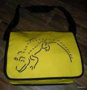 Messenger bag - yellow