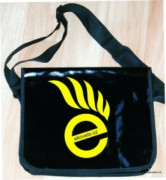 Messenger bag - black - ekovelo - pank
