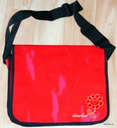 Messenger bag - red