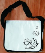 Messenger bag - white
