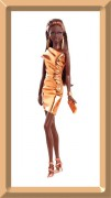 Barbie City Shine Bronze Dress - The LOOK Collection