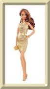 Barbie City Shine Gold Dress - The LOOK Collection