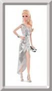Barbie City Shine Silver Dress - The LOOK Collection