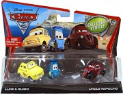 CARS 2 (Auta 2) - Luigi  +  Guido  +  Uncle Topolino