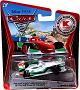 CARS 2 (Auta 2) - Francesco Bernoulli Silver Metallic Finish