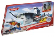 PLANES (Letadla) - Aircraft Carrier Playset  +  Jolly Wrenches Dusty Crophopper
