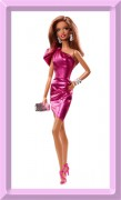 Barbie City Shine Pink Dress - The LOOK Collection