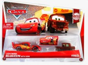 CARS 2 (Auta 2) - Lightning McQueen with Sign  +  Fred