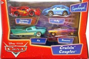 CARS - Cruisin Couples (Sally  +  Lightning McQueen  +  Flo  +  Ramone Purple) - poškozený obal