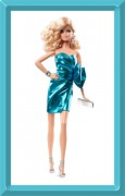 Barbie City Shine Blue Dress - The LOOK Collection