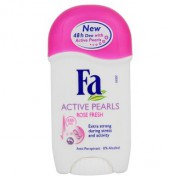 Tuhý antiperspirant Fa Active Pearls Rose 50ml