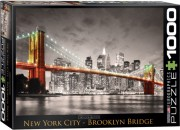 Puzzle EuroGraphics NY Brooklyn Bridge 1000