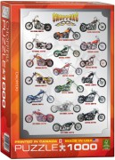 Puzzle EuroGraphics Choppers 1000