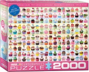 Puzzle EuroGraphics Cupcakes 2000
