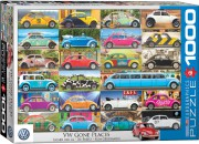 Puzzle EuroGraphics Volkswagen Brouk na cestách 1000